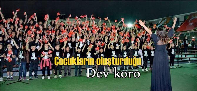 Tarsus'ta bir ilk; 190 kişilik dev çocuk korosu