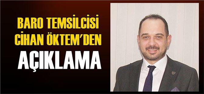 """Av. Cihan Öktem: """"YSK kararı kamu vicdanını son derece rahatsız etmiştir"""""""
