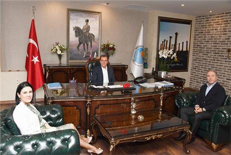UCIM'den Başkan Seçer'e Ziyaret