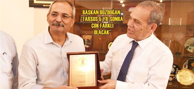 Yılmaz Karaca'dan Başkan Bozdoğan'a Ziyaret