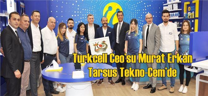 Turkcell Ceo'su Murat Erkan Tarsus Tekno-Cem'de