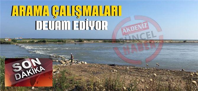 Tarsus'ta serinlemek için suya giren şahıs kayboldu