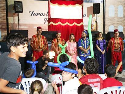 Toroslar'da Çocukları Sevindiren Ramazan Panayırı