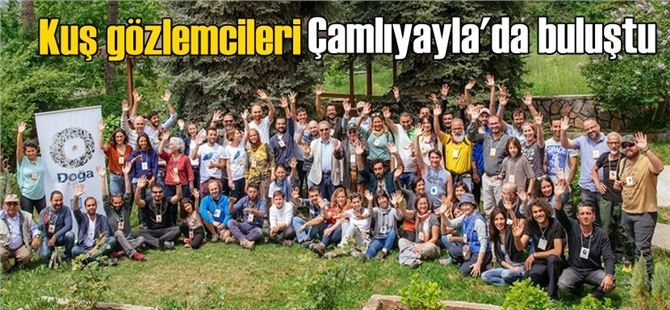 19. Türkiye Kuş Konferansı Çamlıyayla'da yapıldı