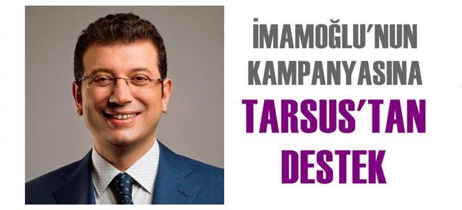 Tarsus CHP'den, İmamoğlu'nun kampanyasına destek çağrısı