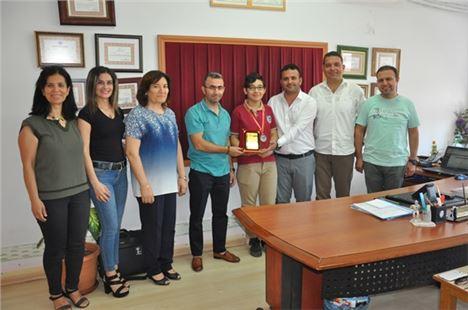 Tarsuslu Öğrenci Kanguru Matematik Yarışmasında Ödül aldı
