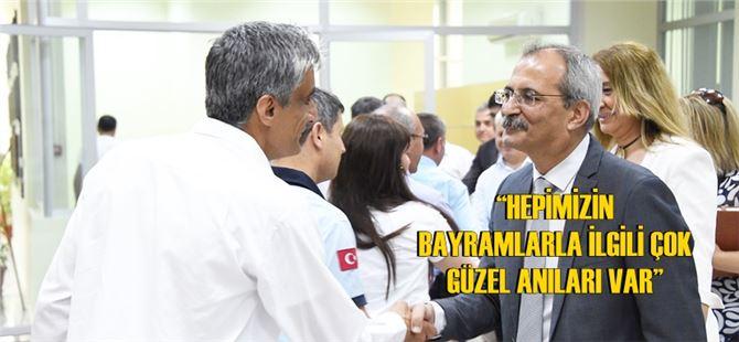 Başkan Haluk Bozdoğan, personel ile bayramlaştı
