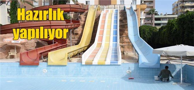 Yakında açılacak olan Tarsus Su Park'ı  bu sezon çok farklı olacak