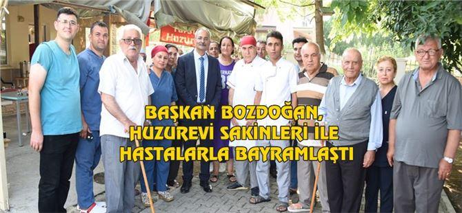 Başkan Bozdoğan, Huzurevi Sakinleri İle Hastalarla Bayramlaştı
