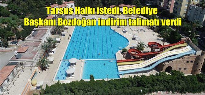 Tarsus Halkı istedi, Belediye Başkanı Bozdoğan indirim talimatı verdi