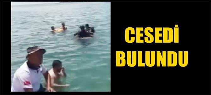 Denizde kaybolan gencin cesedi bulundu