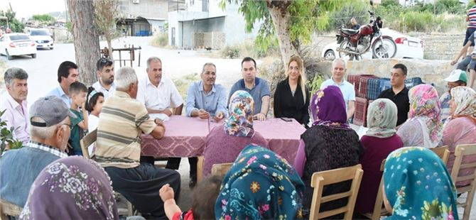 Başkan Bozdoğan'dan Kırsal Mahallelere Bayram Mesaisi