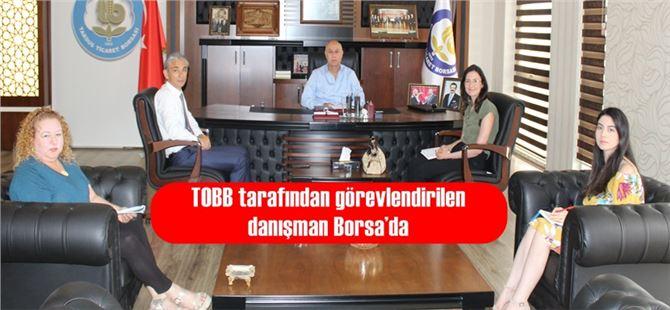 TOBB tarafından görevlendirilen danışman Borsa'da