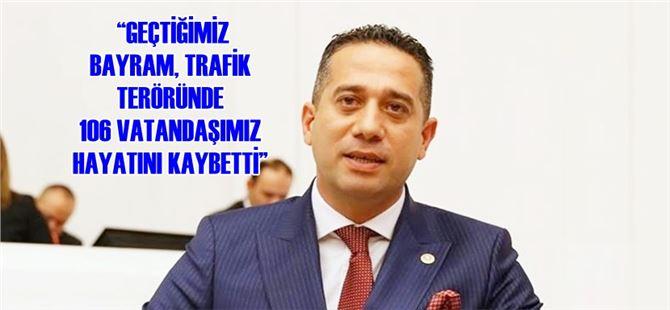 Ali Mahir Başarır, trafik kazalarını Meclis gündemine taşıdı