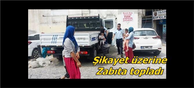 Tarsus'ta dilenci operasyonu