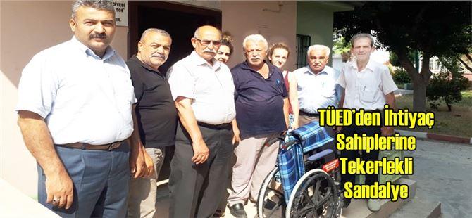 TÜED'den İhtiyaç Sahiplerine Tekerlekli Sandalye