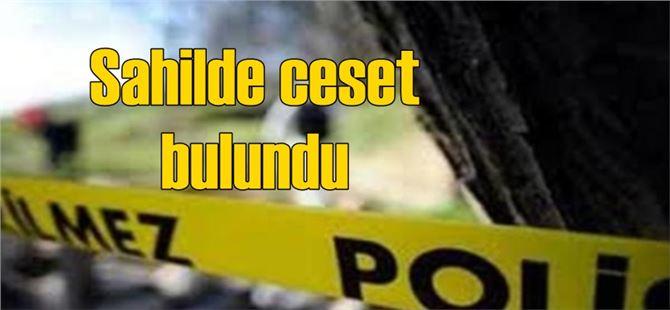 Mersin'de sahilde erkek cesedi bulundu