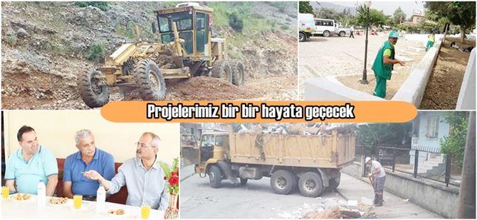 """Ali Erhan Okyay: """"Ekiplerimiz tüm mahallelerimize eşit hizmet götürüyor"""""""