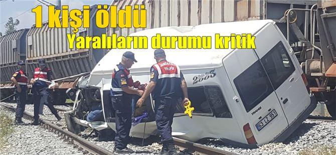 Tarsus'taki tren kazasında O şahıs gözaltına alındı