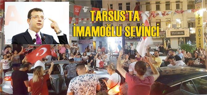İmamoğlu için CHP'liler Tarsus'ta da sokaklara döküldü!