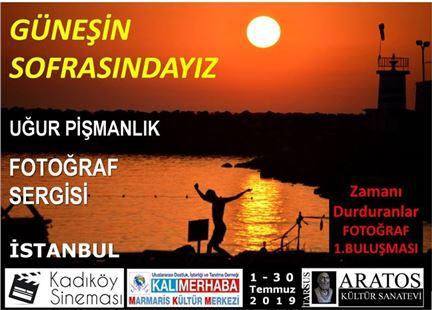 """""""Güneşin Sofrasındayız"""" Fotoğraf Sergisi İstanbul'da Açılıyor"""