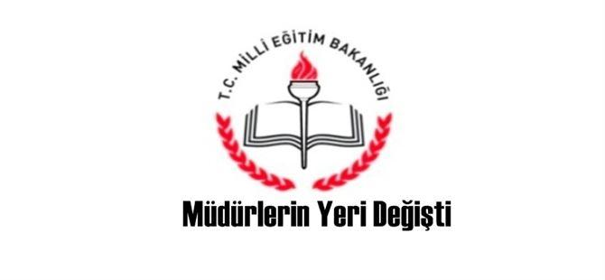 Tarsus'ta bazı okul müdürlerinin yerleri değişti