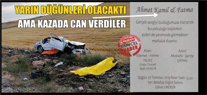 Konya'da, Mersin'i yasa boğan haber: 4 ölü
