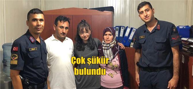 Tarsus'ta 15 yaşındaki kayıp kız bulundu