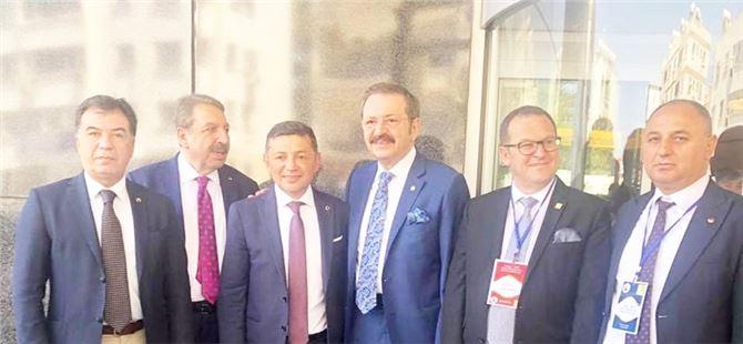 """""""Türkiye - KKTC Ticaret Odası Forumu 1. Ekonomi Konferansı"""" Lefkoşa'da gerçekleşti"""