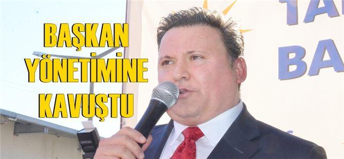 Ak Parti Tarsus ilçe yeni yönetimi belli oldu