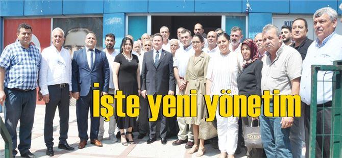AK Parti Tarsus ilçe yönetimi tanıtıldı