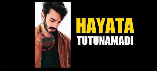 Tarsus'taki kazada yaralanan genç, hastanede öldü