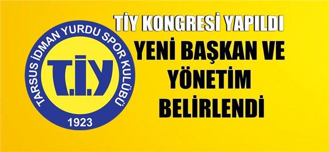 Tarsus İdmanyurdu Kulüp Başkanı Mustafa Şendağ oldu