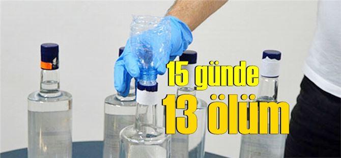 Adana'da sahte içkiden ölenlerin sayısı 4'e yükseldi