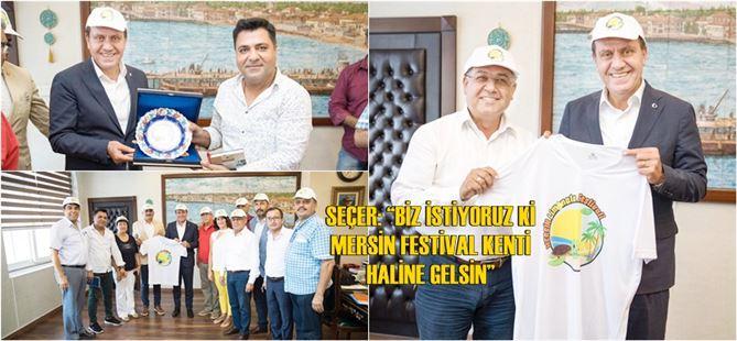 """Büyükşehir'den """"Mersin Limonata Festivali""""ne destek"""