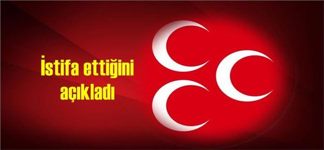 Tarsus Belediye Meclisi eski üyesi MHP'den istifa etti