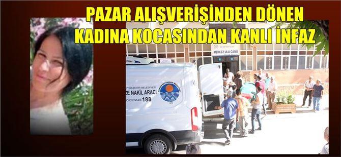 Mersin'de talihsiz kadın kocası tarafından öldürüldü