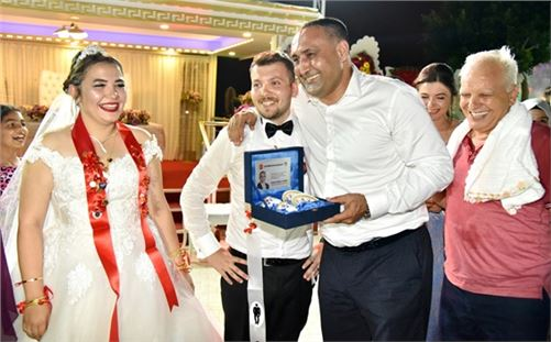 Mersin'de en çok nikah kıyılan ilçesi Toroslar