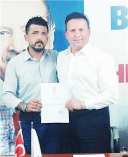 Ak Parti Tarsus Engelliler Koordinasyon Merkezi Başkanlığına Fatih Düzenli Atandı