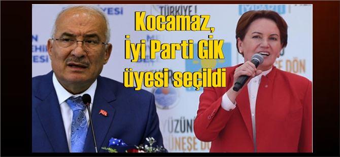 Burhanettin Kocamaz, İyi Parti GİK üyesi seçildi