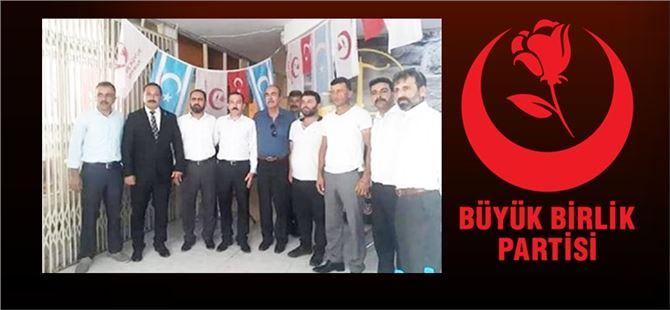 Büyük Birlik Partisi Tarsus ilçe kongresi yapıldı