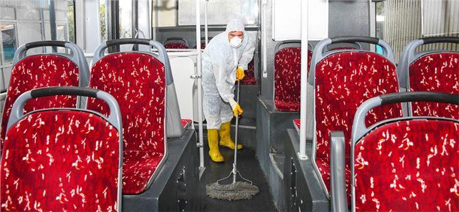 Otobüslere bayram temizliği