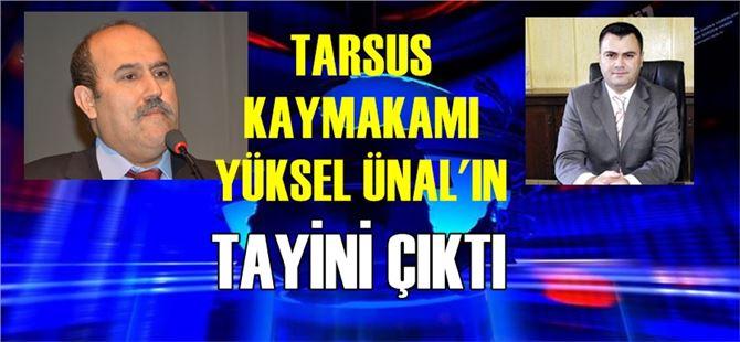 Tarsus'un yeni Kaymakamı Kadir Sertel Otçu oldu