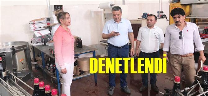 Tarsus Belediyesi'nden şalgam imalathanelerine denetim
