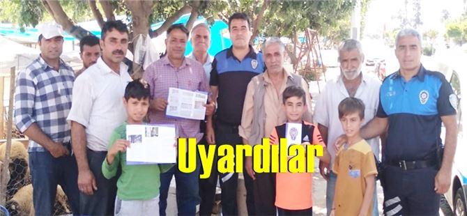 Tarsus'ta kurbanlık satış noktalarında sahte para uyarısı