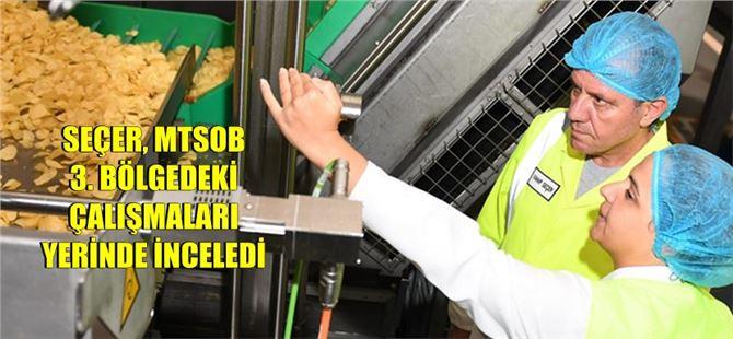 Başkan Seçer'den Mersin-Tarsus OSB'de İnceleme