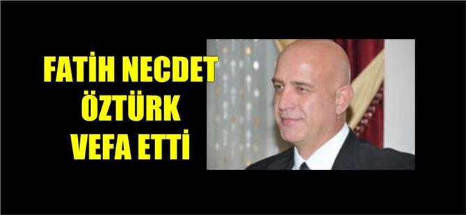 Tarsus eski Emniyet Müdürü Fatih Necdet Öztürk vefat etti