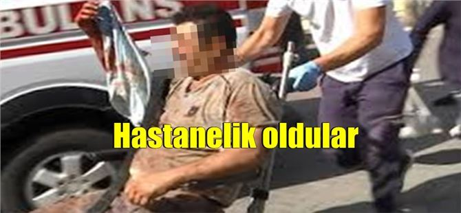 Tarsus'ta onlarca acemi kasap hastanelik oldu