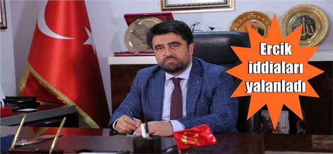 Cesim Ercik'den kaçak elektrik iddiasına cevap