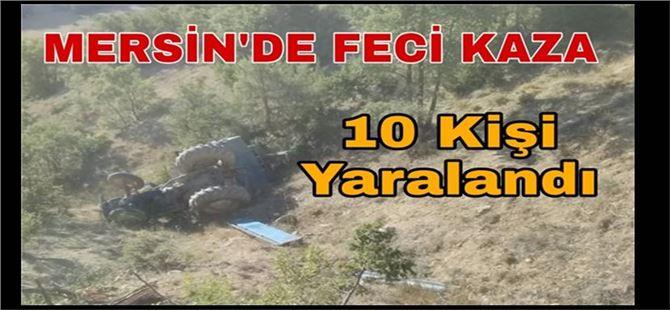 Mersin'de feci kaza : 10 yaralı